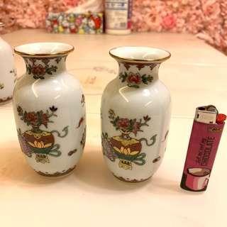 七十年代 特色小花瓶 花樽一對