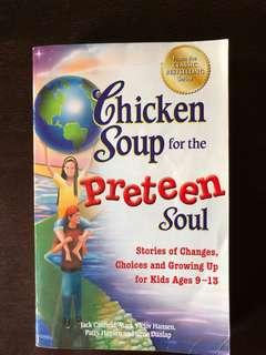 Chicken soup for preteen