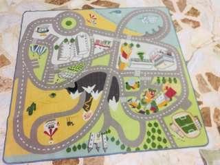 IKEA Children's toy/ road Carpet