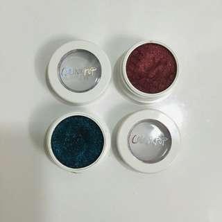 colourpop eyeshadows bundle in rex and porter