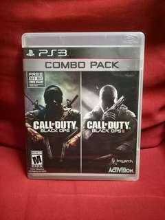 PS3 CALL OF DUTY BLACK OPS COMBO PACK
