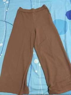 (Free Ongkir JABODETABEK) Celana Kulot Coklat