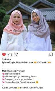 Hijab Instan bagus merk Light and Bright
