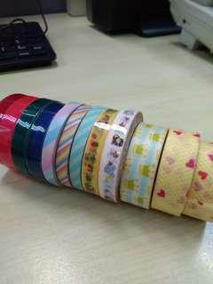 Preloved Washi Tapes