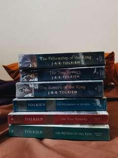Lord of the Rings Trilogy Books