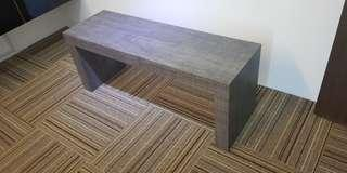Used clean bench, made of solid, hard heavy wood