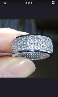 Absolutely Beautiful Silver PLATED Ring
