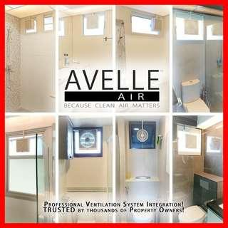 SALE! Ventilation / Exhaust Fan Installation Package ― By In-house Trained Professionals