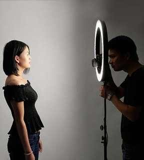 FOR RENT: Original Prestigio New York Ring Light