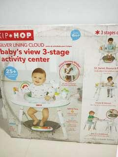 Skip Hop Activity Center, Silver Lining Cloud