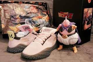 Adidas dragon ball majin buu 布歐 kamanda(不連圖中SHF 不是 yeezy ultra boost nmd)