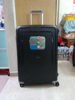 Samsonite S'Cure Spinner 28 Luggage - Black