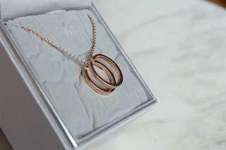 Calvin Klein Rose Gold Necklace