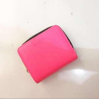Stradivarius dompet / wallet pink