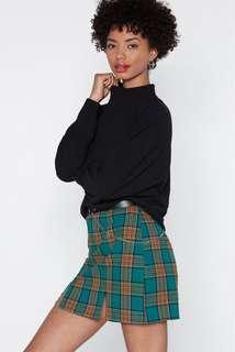 Nasty Gal Black High Neck Sweater