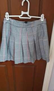 Glassons Pleated mini skirt size 8