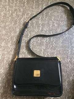 💯MCM Black Shouder Bag with dustbag