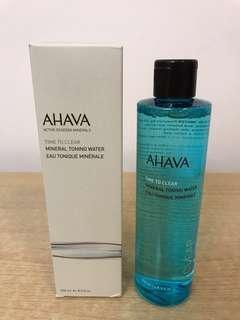 AHAVA 死海礦精營養露 Mineral Toning Water-250ml 以色列死海品牌 全新
