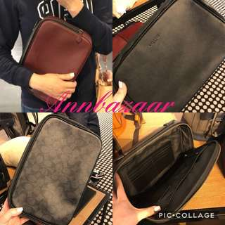 Coach Multifunctional Pouch or Clutch Bag for Men (100% Authentic) 63afa76d20611