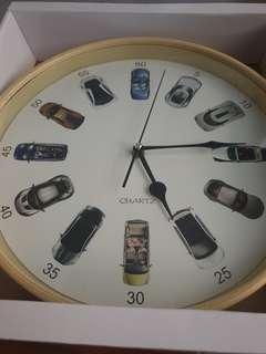 Wall clock car design