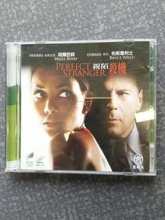 Perfect stranger 親陌殺機 Vcd Bruce Willis, Halle Berry