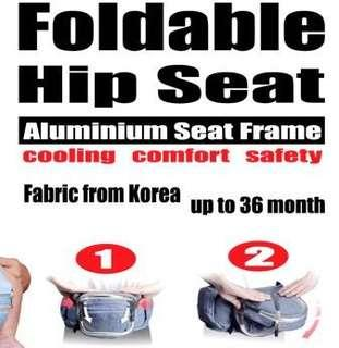 🚚 Bebear Baby foldable hip seat/ Carrier