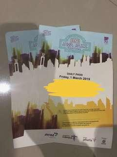 Ticket java jazz day 1