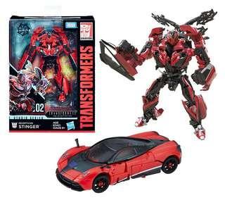 Transformers Studio Series SS02 變形金剛 毒刺 Stinger deluxe class孩子寶 takara tomy hasbro 紅色跑車