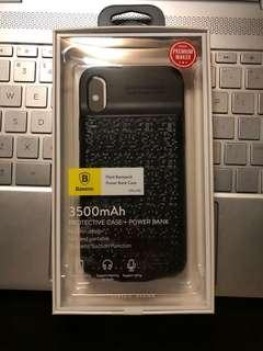 iPhone X Super Slim & Chin-less Battery Power Bank Case