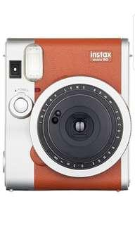 🚚 BNIB Fujifilm Instax Mini 90 Brown Instant Camera Polaroid
