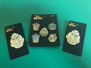 Harry Potter house badges from universal studio Osaka