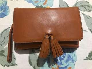 Fossil pouch preloved/second