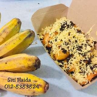 Goreng pisang cheese