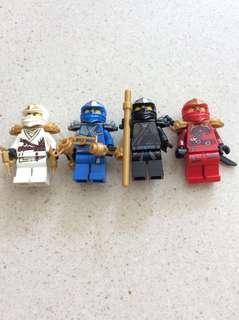 Lego ninjago zx set