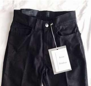 Acne pleated flared pants