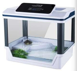 everything in one turtle tank