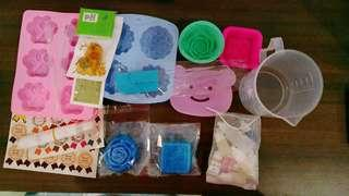 DIY Soap Material and Tools自制手工皂材料和工具