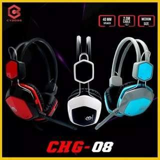 Headset Gaming Cyborg CHG 08 - Headset Gaming murah