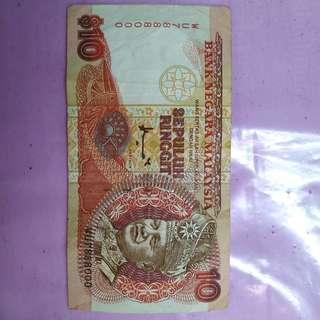 Duit Lama Malaysia dgn no cantik 7888000