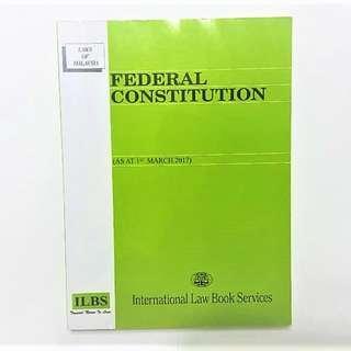 FEDERAL CONSTITUTION
