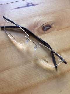 奧地利silhouette鈦超輕彈性眼鏡