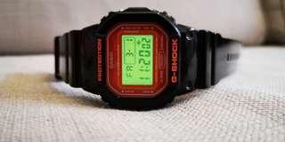 Casio G-Shock DW5600CS-1 Orange