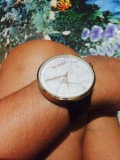 ALDO Leather Watch