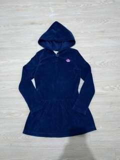 Crazy8 hooded dress (5-6t)