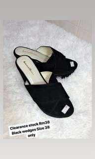Kasutku Black wedges