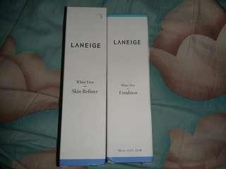 LANEIGE PRELOVED WHITE DEW REFINER DAN EMULSION