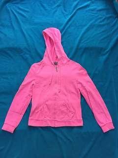 Giordano pink hoodie
