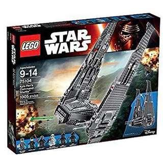 LEGO Star Wars - Kylo Ren's Command Shuttle (75104)