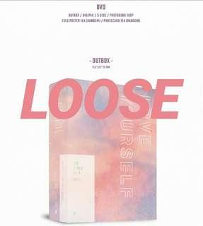 [LOOSE] BTS LOVE YOURSELF IN SEOUL DVD Loose items