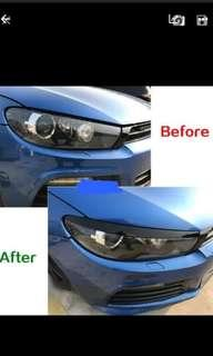 scirocco headlamp trim